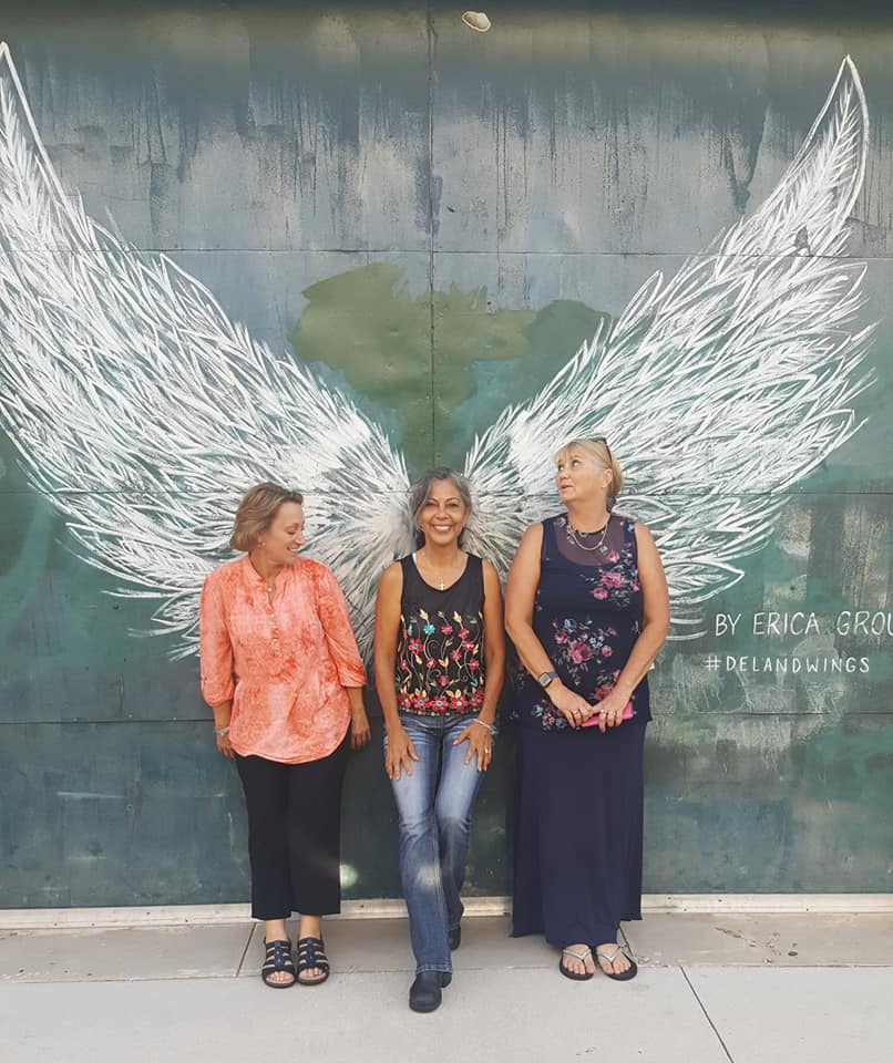 angel wings deland florida tammy, daisy and donna
